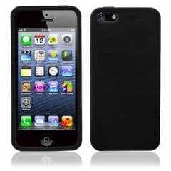 SILICONE CASE FOR IPHONE 5 /5s BLACK