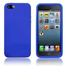 SILICONE CASE FOR IPHONE 5 /5s DARK BLUE