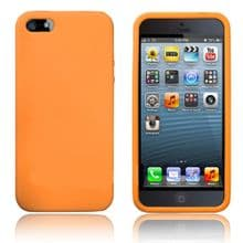 SILICONE CASE FOR IPHONE 5 /5s Orange