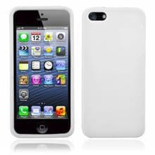 SILICONE CASE FOR IPHONE 5 /5s WHITE