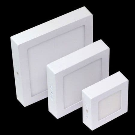 Surface Mounted LED Panel Light Square Ceiling Downlight Lamp IP66 Waterproof
