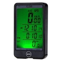 WIRELESS LCD WATERPROOF BICYCLE COMPUTER SPEEDOMETER with TOUCH SCREEN