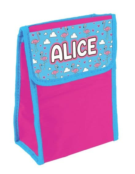 Alice Personalised Cool Lunch Bag