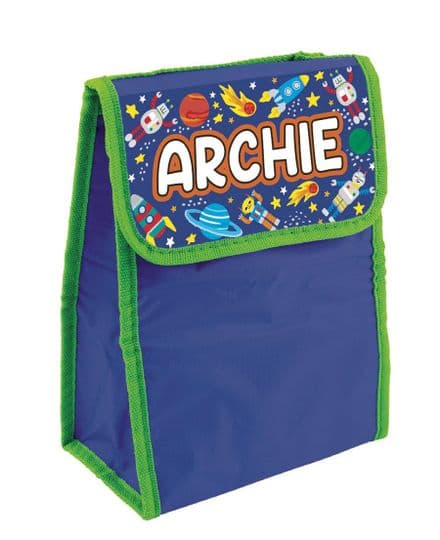 Archie Personalised Cool Lunch Bag