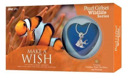 Clownfish Pearl Giftset with Wildlife Pendant