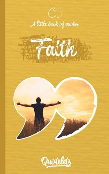 Faith Quotelet quotebook