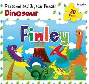 Finley Personalised Jigsaw
