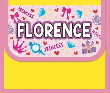 Florence Personalised Cool Lunch Bag