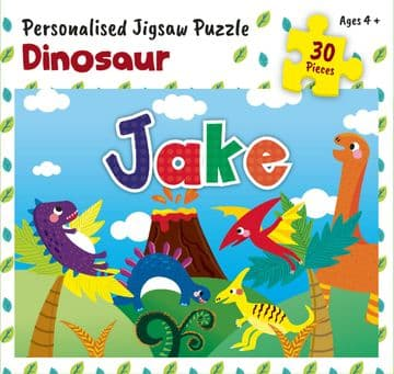 Jake Personalised Jigsaw