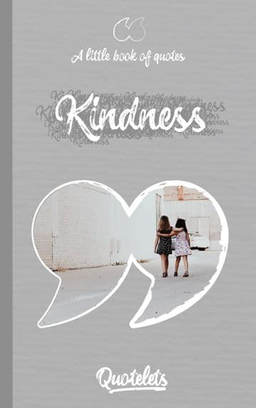 Kindness Quotelet quotebook