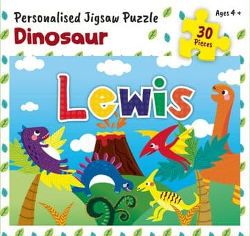 Lewis Personalised Jigsaw