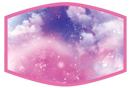 Magical Clouds Kids Face Mask