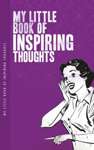My Little Book of Inspiring Thoughts Notelet notebook