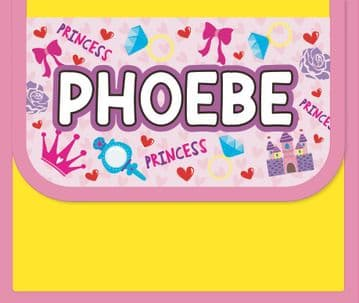 Phoebe Personalised Cool Lunch Bag