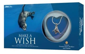 Sea Lion Pearl Giftset with Wildlife Pendant