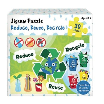 Themed Jigsaw - Reduce Reuse Recycle
