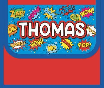 Thomas Personalised Cool Lunch Bag