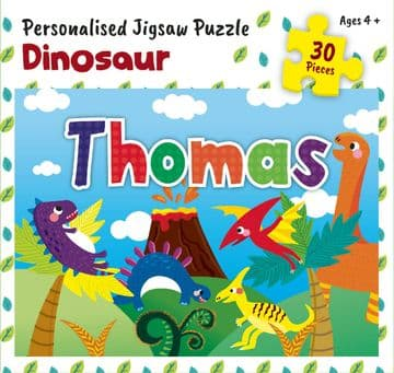 Thomas Personalised Jigsaw