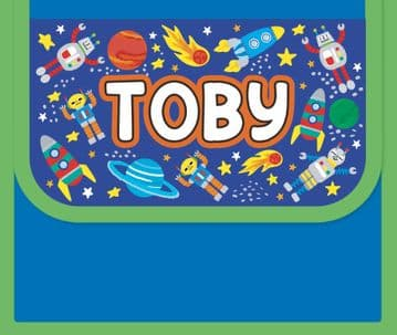 Toby Personalised Cool Lunch Bag