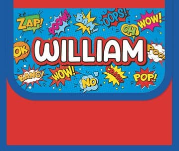 William Personalised Cool Lunch Bag