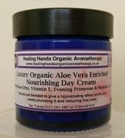 Natural Organic Rose Otto, VitE & Ev.Primrose Day Cream +Manuka 60ml