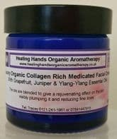 Organic 'Medicated' Anti-aging Face Cream with Collagen 60ml