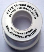 PLUMBERS TAPE Pipe thread PTFE Teflon connections sealing tank BSP NPT fitting
