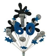 Mechanic 60th birthday cake topper decoration - colours as shown - free postage