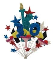 New York 30th birthday cake topper decoration - free postage