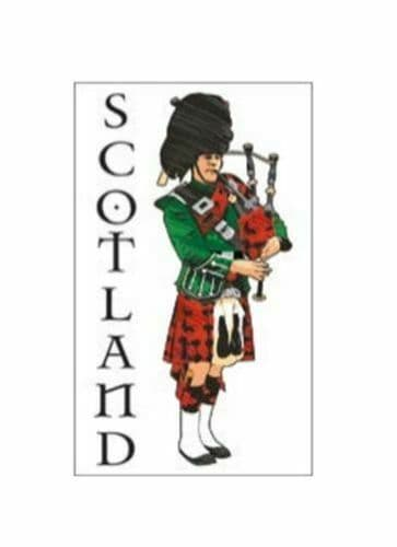 Scottish Piper Scotland Tea Towel