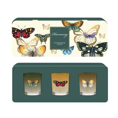 Botanic Votive Candle Gift Set