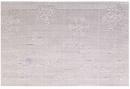 Jacquard Place Mat Silver Stag