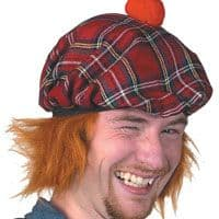 See You Jimmy Hat (Red Tartan)