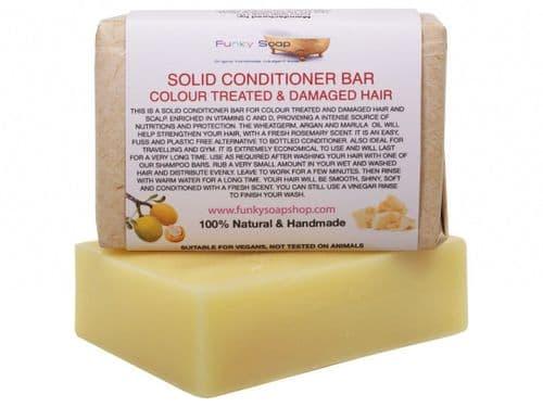Solid Conditioner Bar For Colour Treated & Damaged Hair