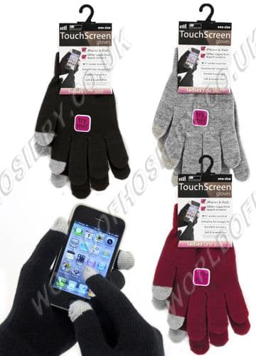 Touch Screen Magic Gloves - Men's, Women's and Kids sizes