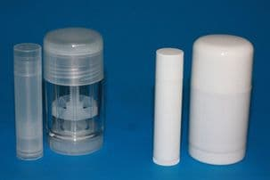 Deodorant stick White and Clear