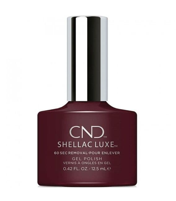 CND Shellac Luxe - Black Cherry