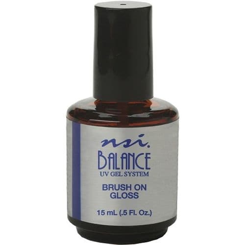 NSI Balance Brush-on Gloss UV Gel 15g