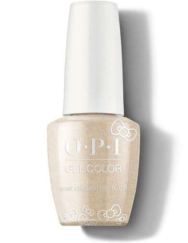 OPI Gelcolor Many Celebrations To Go