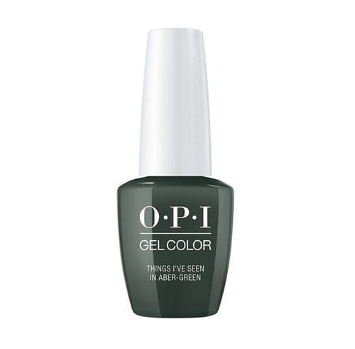 OPI Gelcolor Things I've Seen in Aber-Green