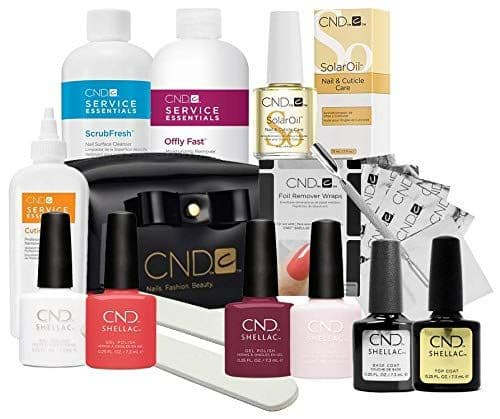 CND Shellac - Chic Trial Starter Kit, Power Polish Intro Pack