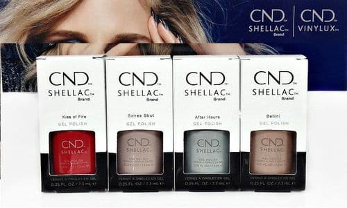 CND Shellac - Night Moves Collection 4 x 7.3ml