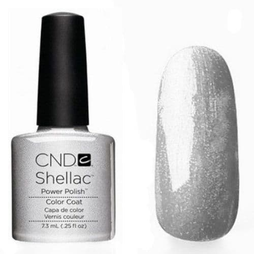 CND Shellac Silver Chrome