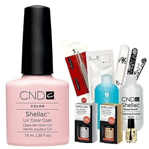 CND Shellac  Starter Kit - Clearly Pink
