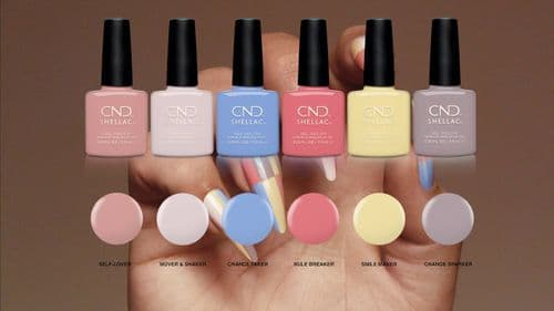 CND Shellac - The Colors of You 2021 Collection