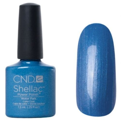 CND Shellac - Water Park - Garden Muse Spring 2015
