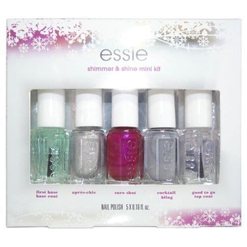 Essie Nail Polish - Virgin Snow Festivities Christmas Collection 2015 - 5 x 5.4ml