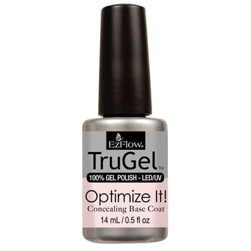 Ezflow Trugel Led/UV Gel Polish - Concealing Base Coat - 0.5oz/14ml