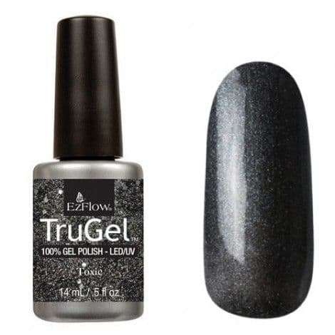 EzFlow Trugel Led/UV Gel Polish - Toxic - 0.5oz/14ml