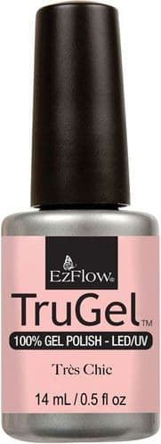 EzFlow Trugel Led/UV Gel Polish - Tres Chic - 0.5oz/14ml